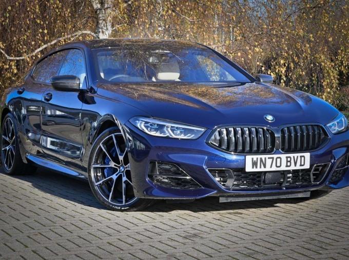 2020 BMW 840i Gran Coupe (Blue) - Image: 1