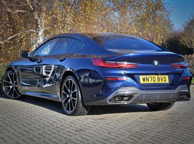 2020 BMW 840i Gran Coupe (Blue) - Image: 2