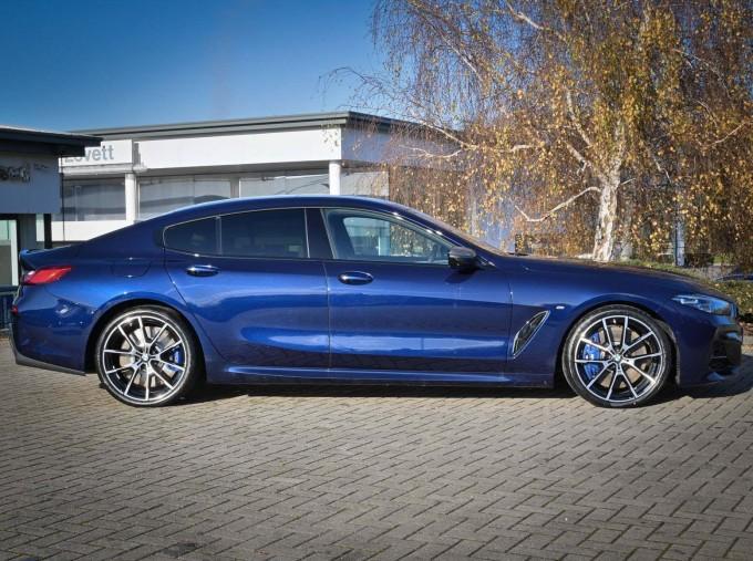 2020 BMW 840i Gran Coupe (Blue) - Image: 3