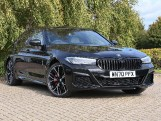 2020 BMW 530e M Sport Saloon (Black) - Image: 1