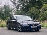 2020 BMW 520d M Sport Saloon (Black) - Image: 1