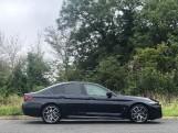 2020 BMW 520d M Sport Saloon (Black) - Image: 3