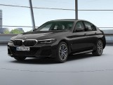 2020 BMW 530e 12kWh M Sport Steptronic xDrive 4-door (Black) - Image: 1
