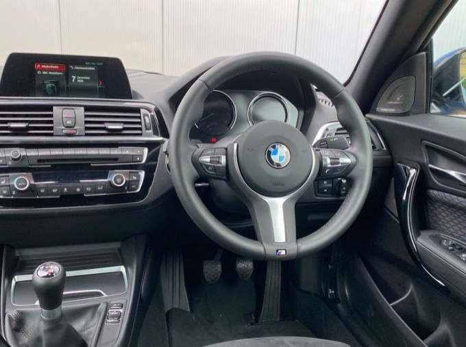 2020 BMW 218d M Sport Coupe (Blue) - Image: 4