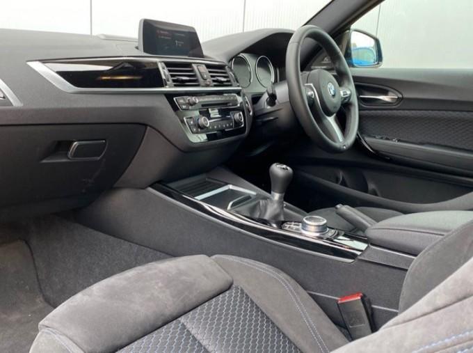 2020 BMW 218d M Sport Coupe (Blue) - Image: 6