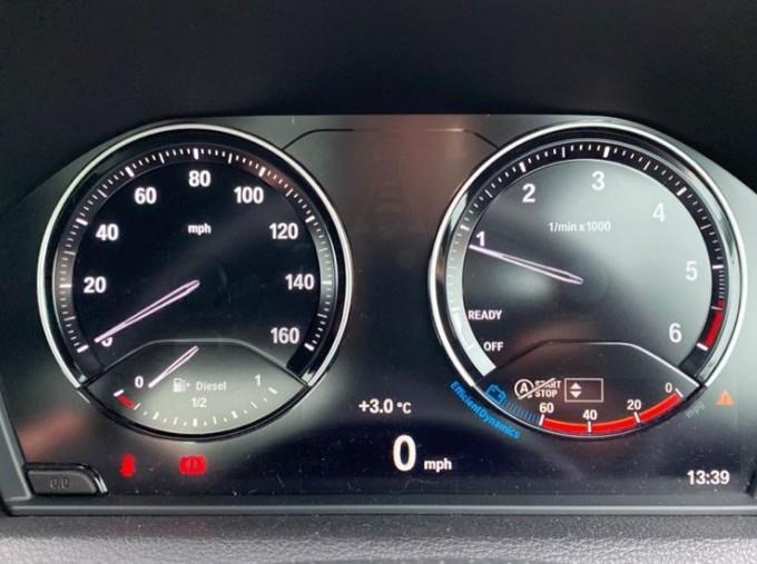 2020 BMW 218d M Sport Coupe (Blue) - Image: 9