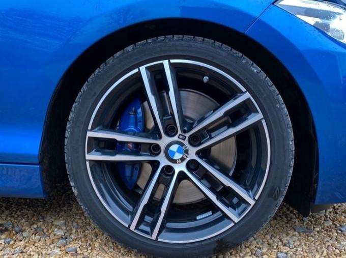 2020 BMW 218d M Sport Coupe (Blue) - Image: 14