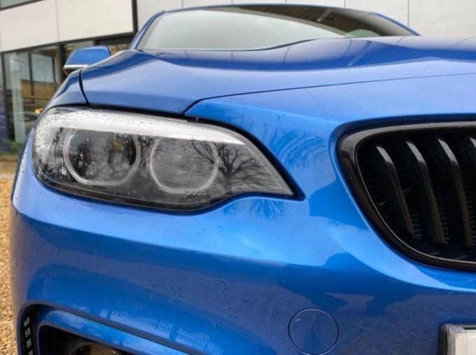 2020 BMW 218d M Sport Coupe (Blue) - Image: 22