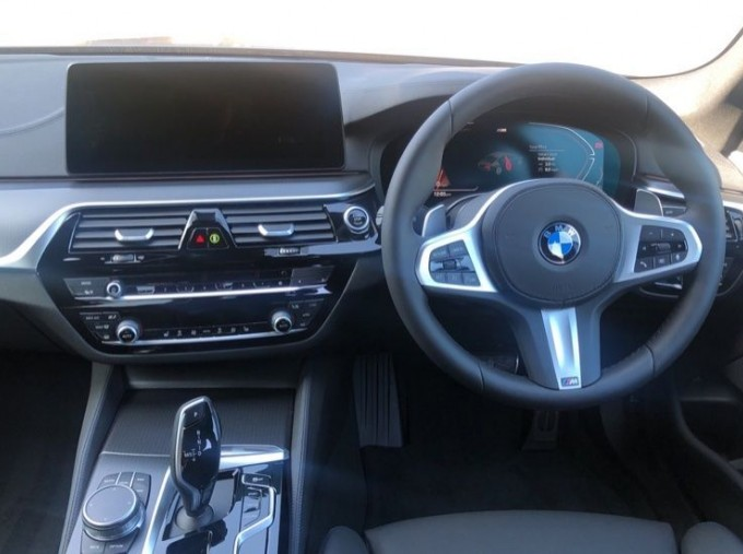 2020 BMW 520d M Sport Saloon (Grey) - Image: 8
