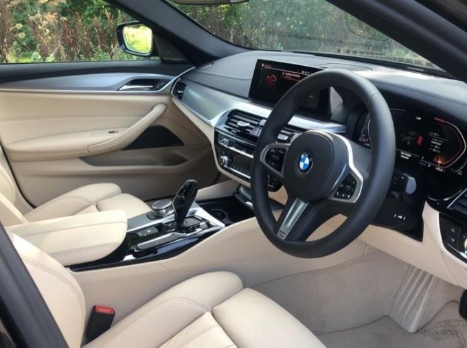2020 BMW 520d M Sport Saloon (Grey) - Image: 5