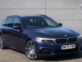 2020 BMW 530i M Sport Touring (Blue) - Image: 1