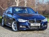 2016 BMW 320i M Sport Saloon (Blue) - Image: 1