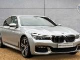 2017 BMW 730d xDrive M Sport Saloon (Silver) - Image: 1