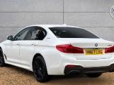 2017 BMW 530e M Sport iPerformance Saloon (White) - Image: 2
