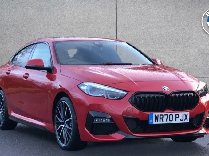 2020 BMW 218i M Sport Gran Coupe (Red) - Image: 1