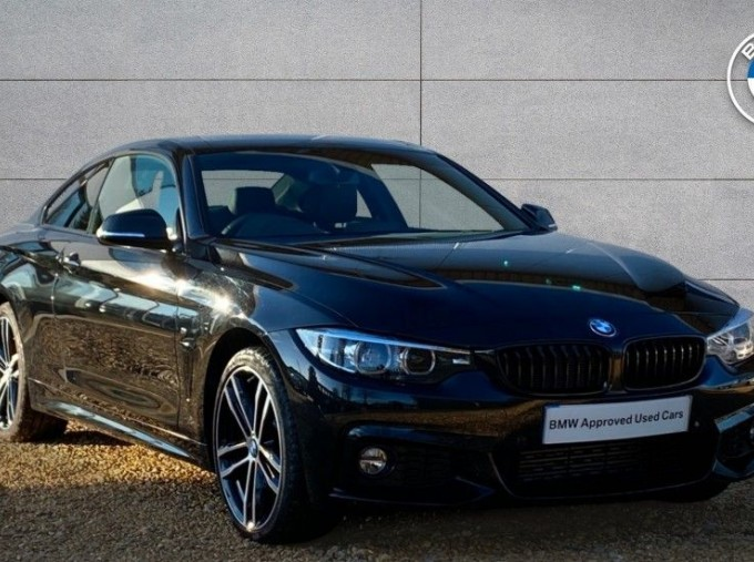 2019 BMW 420d xDrive M Sport Coupe (Black) - Image: 1