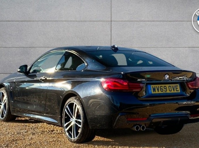 2019 BMW 420d xDrive M Sport Coupe (Black) - Image: 2