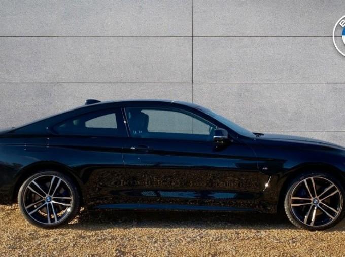 2019 BMW 420d xDrive M Sport Coupe (Black) - Image: 3