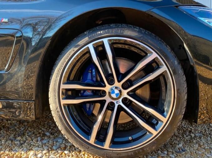 2019 BMW 420d xDrive M Sport Coupe (Black) - Image: 14