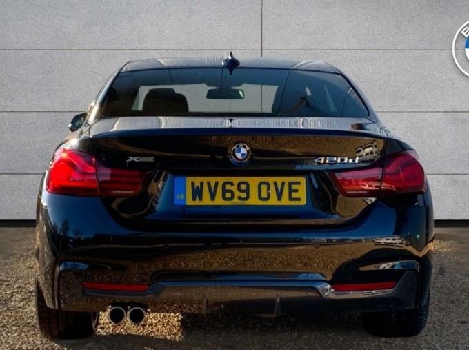 2019 BMW 420d xDrive M Sport Coupe (Black) - Image: 15