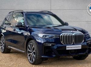Brand new 2020 BMW X7 xDrive40d M Sport 5-door finance deals