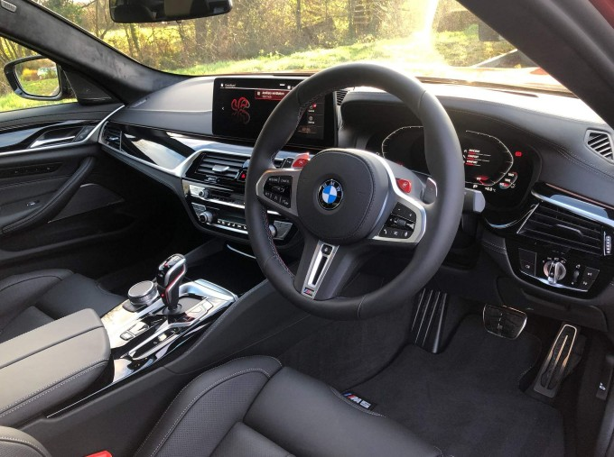 2021 BMW 4.4i V8 Competition Steptronic xDrive 4-door (Red) - Image: 6