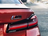 2021 BMW 4.4i V8 Competition Steptronic xDrive 4-door (Red) - Image: 18
