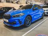 2021 BMW 118d M Sport 5-door (Blue) - Image: 1