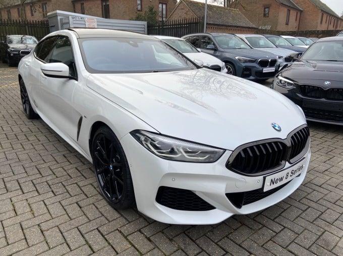 2020 BMW 840i M Sport Gran Coupe Steptronic 4-door (White) - Image: 1
