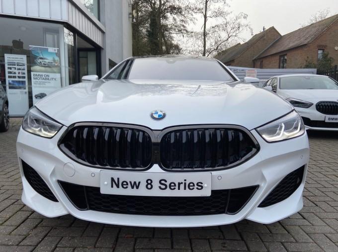 2020 BMW 840i M Sport Gran Coupe Steptronic 4-door (White) - Image: 3