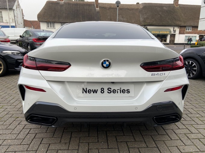 2020 BMW 840i M Sport Gran Coupe Steptronic 4-door (White) - Image: 6