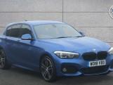 2018 BMW 116d M Sport Shadow Edition 5-door (Blue) - Image: 1