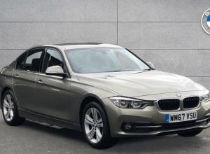Brand new 2018 BMW 3 Series 320d Sport Saloon 4-door finance deals