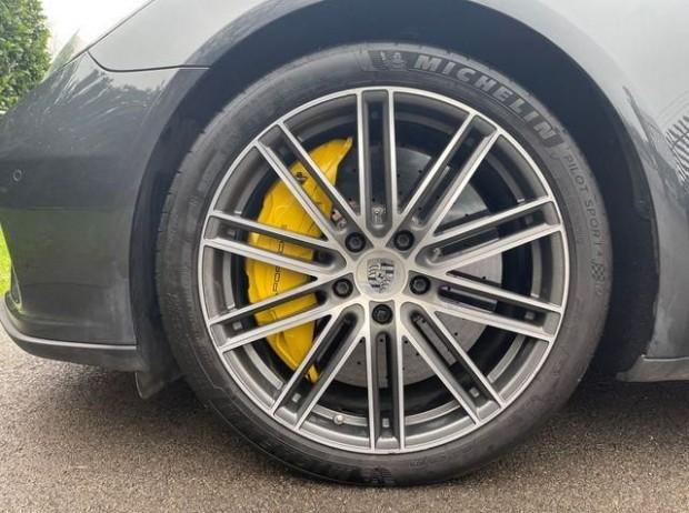 2019 Porsche V8 Turbo S E-Hybrid 5-door PDK (Grey) - Image: 4