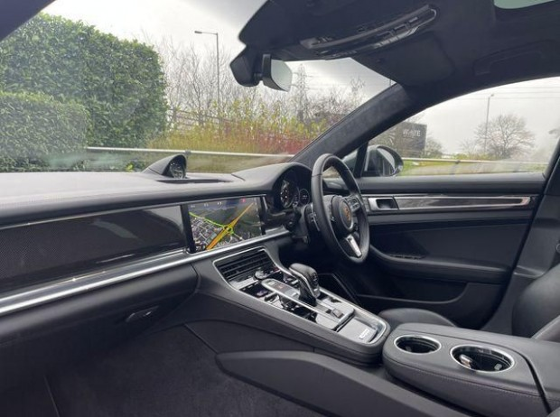 2019 Porsche V8 Turbo S E-Hybrid 5-door PDK (Grey) - Image: 5