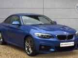 2018 BMW 218d M Sport Coupe (Blue) - Image: 1