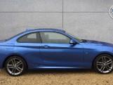 2018 BMW 218d M Sport Coupe (Blue) - Image: 3