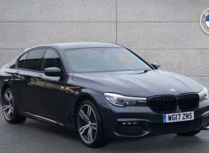 Brand new 2017 BMW 7 Series 730d M Sport Saloon 4-door finance deals