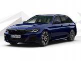 2021 BMW 530d MHT M Sport Edition Touring Steptronic xDrive 5-door (Blue) - Image: 1