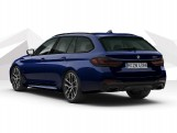 2021 BMW 530d MHT M Sport Edition Touring Steptronic xDrive 5-door (Blue) - Image: 3