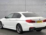 2019 BMW 520d M Sport Saloon (White) - Image: 2