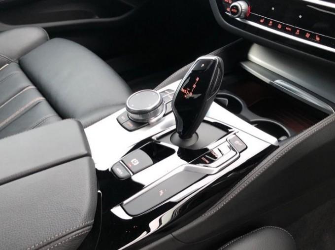 2019 BMW 520d M Sport Saloon (White) - Image: 10