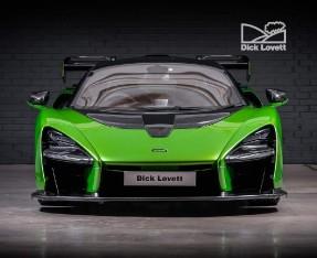 2019 McLaren Senna Unlisted Unlisted (Green) - Image: 7