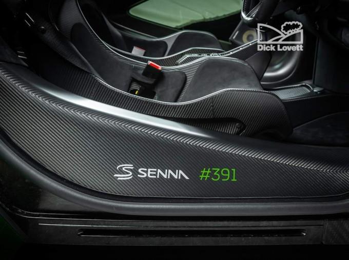 2019 McLaren Senna Unlisted Unlisted (Green) - Image: 18