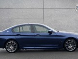 2018 BMW 530e M Sport iPerformance Saloon (Blue) - Image: 3