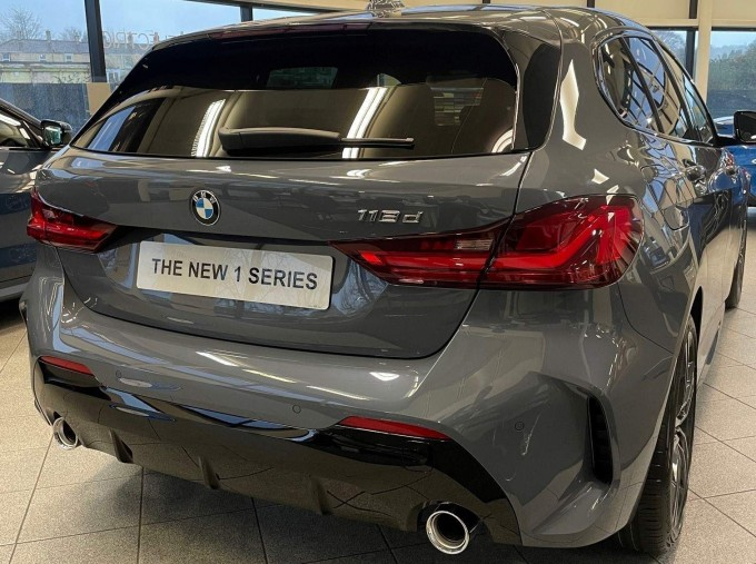 2021 BMW 118d M Sport 5-door  - Image: 2