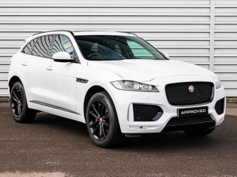Reserve your 2019 Jaguar F-Pace i4 Diesel (180PS) Chequered Flag 5-door