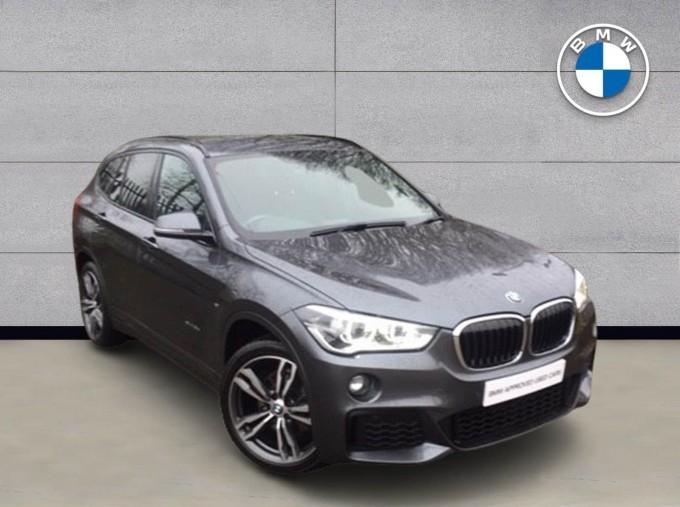 2017 BMW XDrive18d M Sport (Grey) - Image: 1