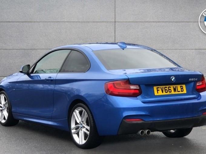 2016 BMW M Sport Coupe (Blue) - Image: 2