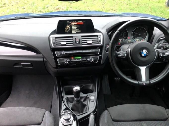 2016 BMW M Sport Coupe (Blue) - Image: 4